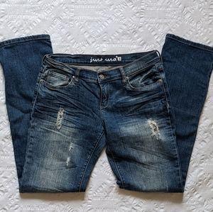 JUST USA Boyfriend Straight leg Jeans size 9